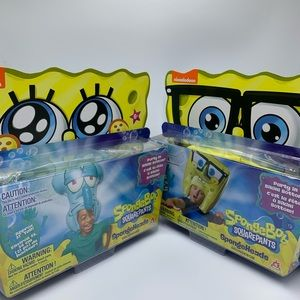 Bob SpongeHeads,  2 Toys, 21 inches Tall, New!